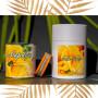 Coffret fête des mères bougies Mangue Papaye et bracelet orange