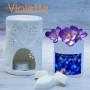 Fondants parfumés à la violette