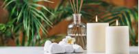 Parfums d'ambiance, bougies parfumées, parfums solides