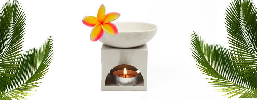 Brûle parfum en céramique modèle bas