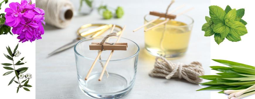 Bougie parfumées aux huiles essentielles