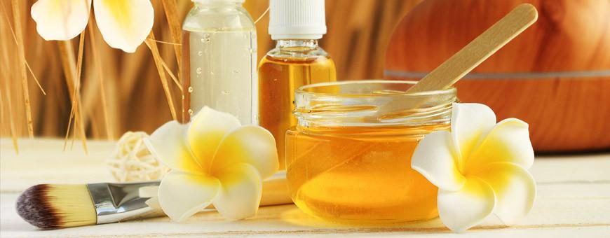 Ingrédients cosmétiques bio pour la peau