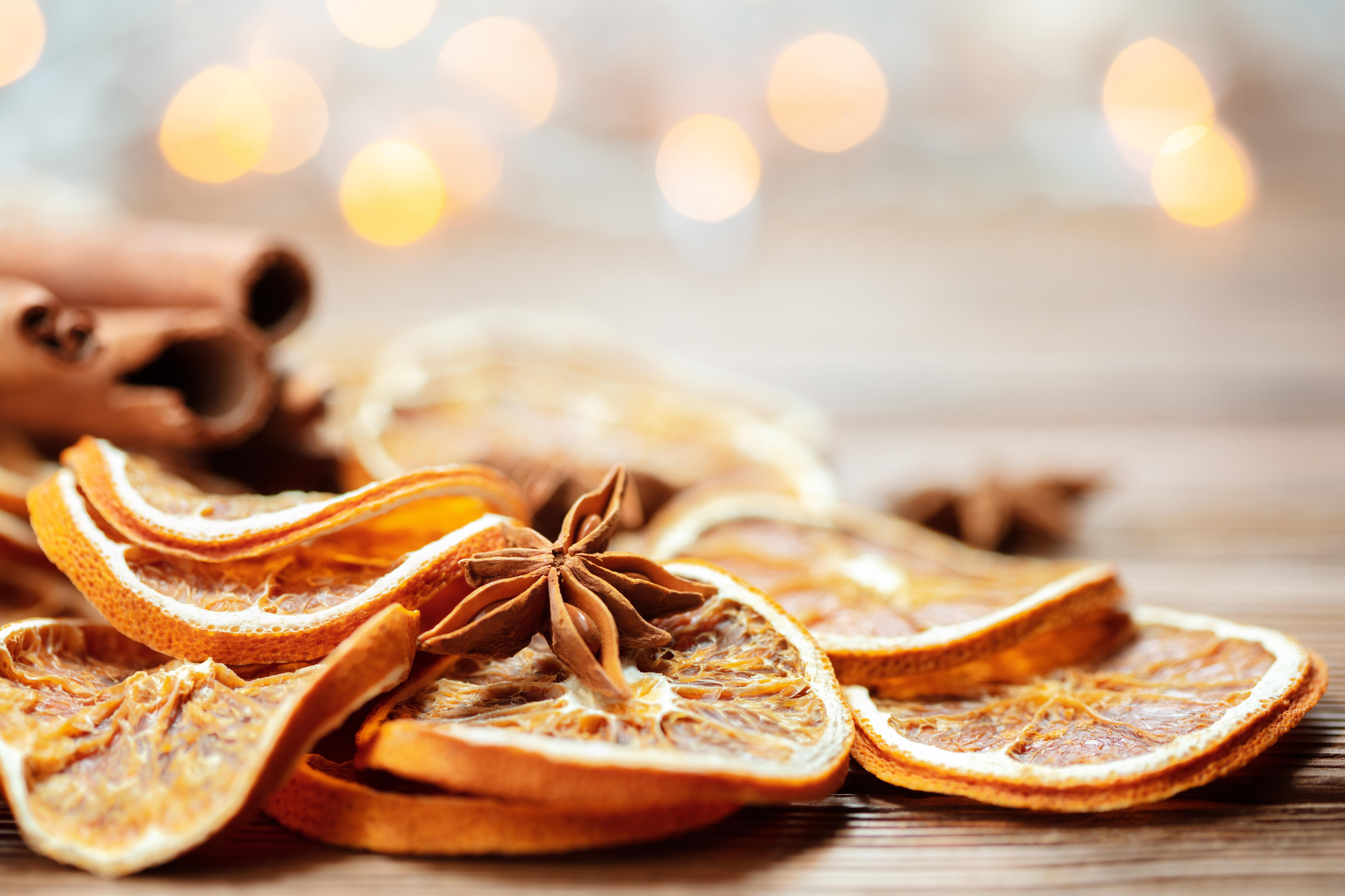 Bougie artisanale parfumée noel tropical épices
