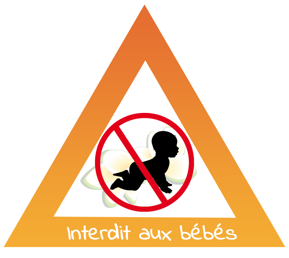 Huile essentielle de menthe interdite aux bébés