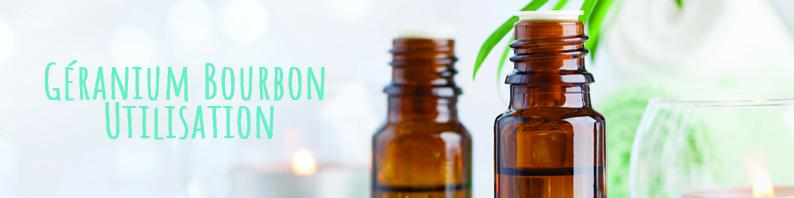 Géranium bourbon utilisation