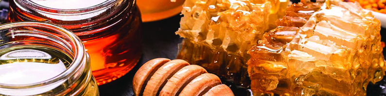 Galet de cire parfumé miel