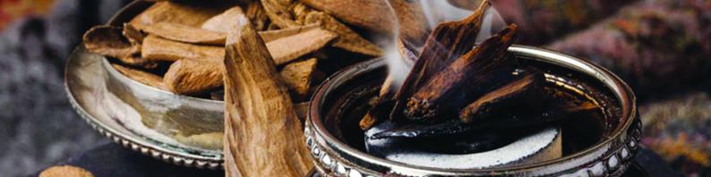 Galet de fondant parfumé bois de oud
