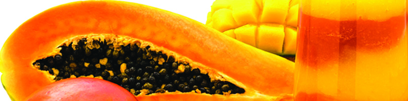 Cire parfumée Mangue papaye