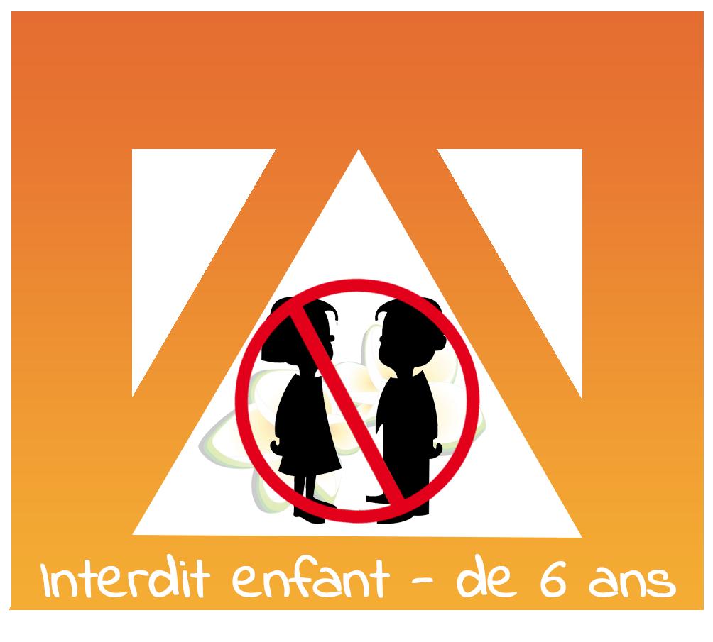 Huile essentielle interdite au moins de 6 ans